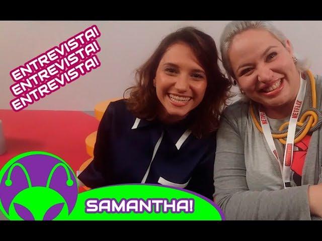 Samantha! (NETFLIX) | Entrevistamos a Laila, a influencer mais amada da série
