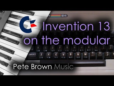 Bach Invention 13 [Synth Music] (The Commodore 64 theme)