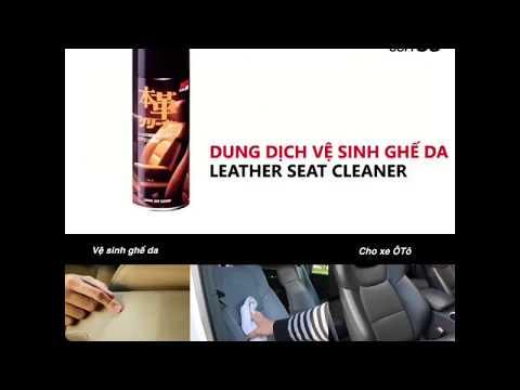 LEATHER SEAT CLEANER L-13 SOFT99 | CHAI XỊT VỆ SINH GHẾ DA Ô TÔ