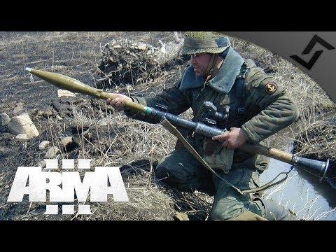 RPG-7 HE-Frag Of Doom - ARMA 3 Frontline RHS PvP - Russian RPG Gameplay