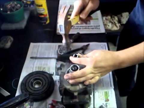 Como Desarmar Un Compresor F500 De Un Hyundai Galoper