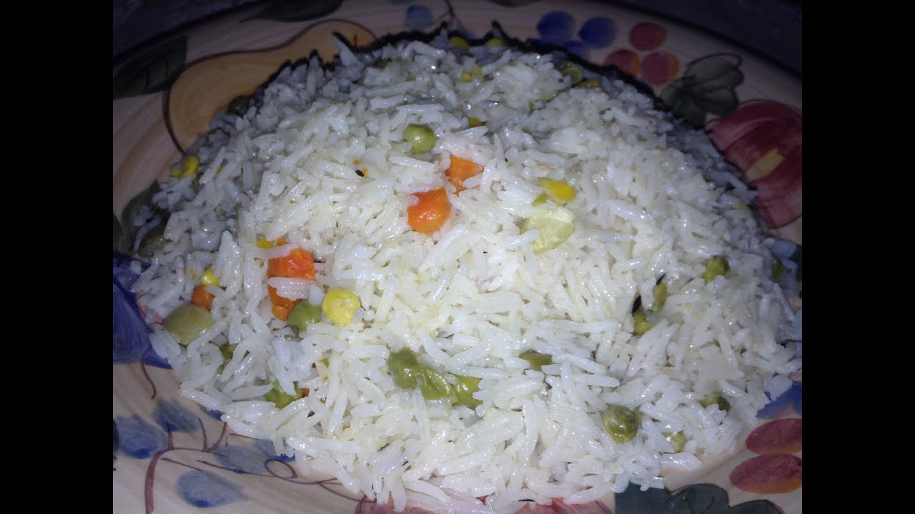 How to cook rice for garnish 77