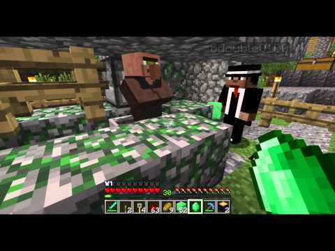 "Minecraft Mindcrack Ep15 - ""B-Team: Blood Emeralds and Horse Heads!"""