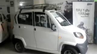 NUEVO TORITO BAJAJ 4 ruedas Qute en Perú  a S/15 750