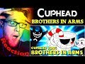 Brothers In Arms CUPHEAD Song By DAGames REACTION THIS IS INCREDIBLE mp3