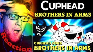 """""""Brothers In Arms"""" CUPHEAD Song by DAGames REACTION!   THIS IS INCREDIBLE!  """