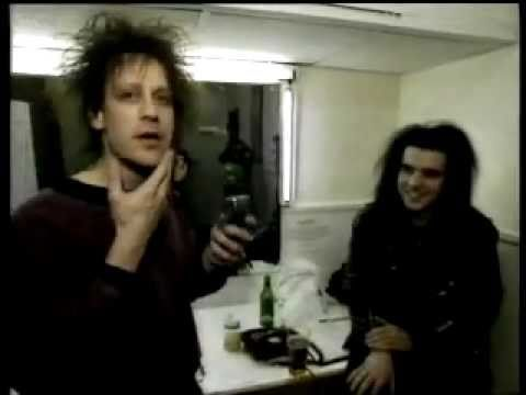 The Cure - Backstage + Makeup