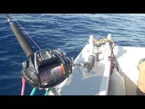 Deep Fishing On Daiwa MegaTwin Electric Reel (1).