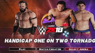 WWE 2K18 PSP, Android/PPSSPP - Handicap Match ft. The King of Cruiserweight #Neville