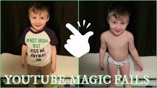 YOUTUBE MAGIC FAILS US!