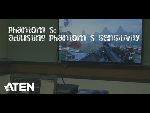 ATEN PHANTOM-S | Gamepad to Keyboard Emulator for PS4/Slim/Pro / PS3