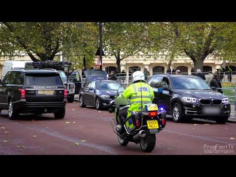London Metropolitan Police | SEG & RPU escorting someone