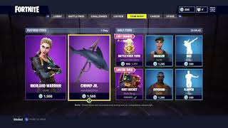 FORTNITE ITEM SHOP 18/04/18 *NEW DAILY AND FEATURED ITEMS*