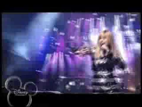 hannah montana- rockstar OFFICIAL concert music video