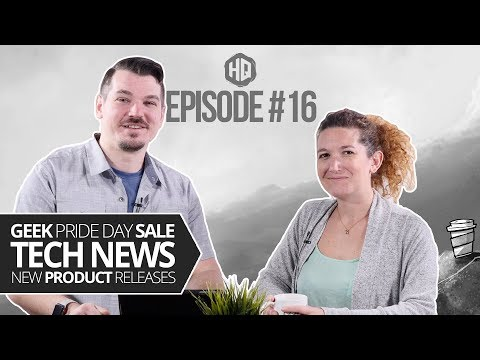 HQ #016 - 50% Off Sale for Geek Pride Week, NorthSec 2019 Event, Product Updates & More...