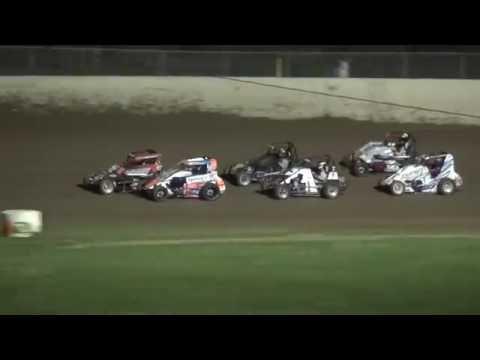 IMRA Midget feature 34 Raceway 7/23/16