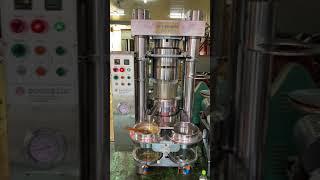 반자동 네발기둥식 (착유기)기름짜는기계