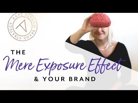 The Mere Exposure Effect: the goal of becoming familiar from YouTube · Duration:  2 minutes 25 seconds