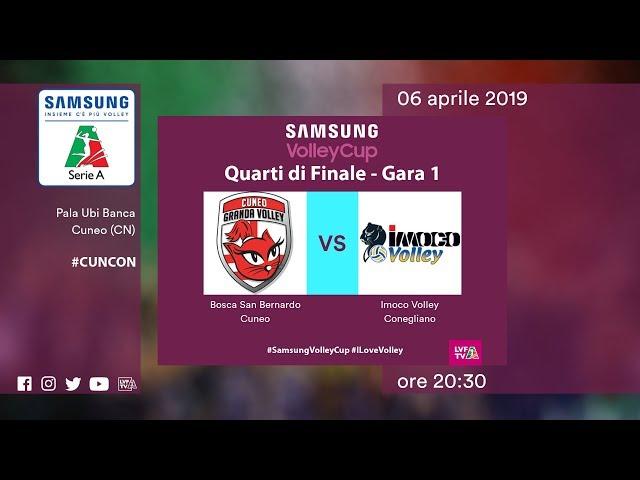 Cuneo - Conegliano | Speciale | Quarti di finale Gara 1 | Samsung Volley Cup 2018/19