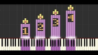 Tenn lys (piano/synthesia)