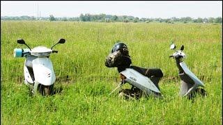 Поход на мопедах Honda Dio 27 с ''Vladdndz'' #2