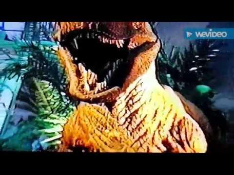 Jurassic Park The Exhibition 1994 T-Rex,Triceratops,Velociraptors in Universal Studio Jurassic World