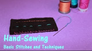 Hand-Sewing | Basic Stitches and Techniques