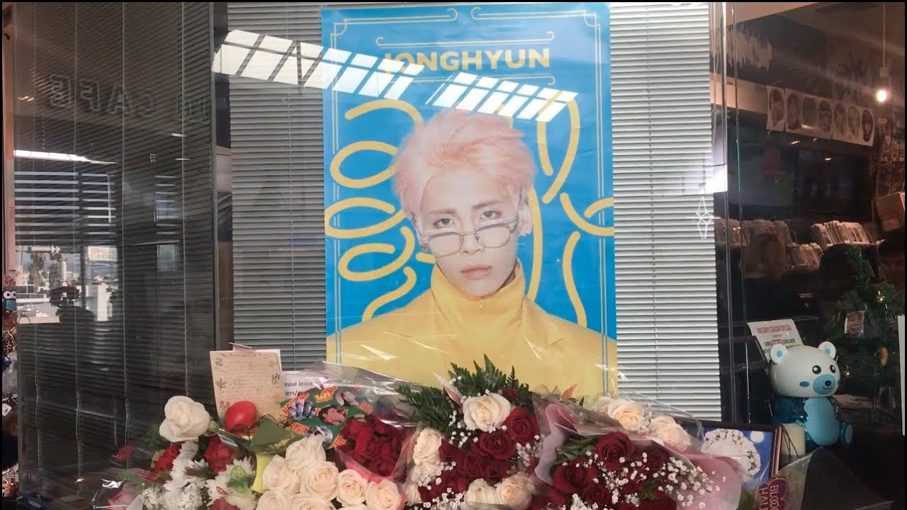 Visiting Choice Music LA Kim Jonghyun Memorial #RIP