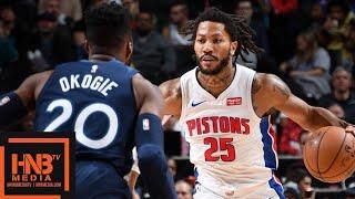 Detroit Pistons vs Minnesota Timberwolves - Full Game Highlights | November 11, 2019-20 NBA Season