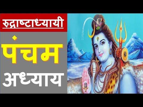 Rudri Path - Rudraashtadhyaayi | रुद्री पाठ - रुद्राष्टाध्यायी | chapter 5