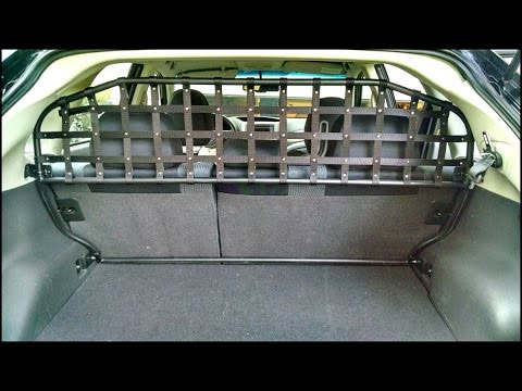 diy custom pet cargo barrier youtube. Black Bedroom Furniture Sets. Home Design Ideas
