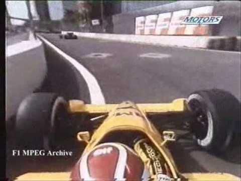 1988-Detroit-Nelson Piquet's lap on board