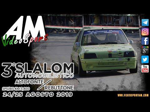 Burgio Tommaso Massimo PSG 3° Slalom Altofonte Rebuttone HD