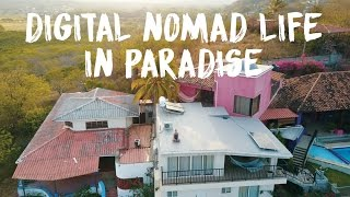 DIGITAL NOMAD LIFESTYLE IN PARADISE | Coworking & Coliving in San Juan Del Sur, Nicaragua