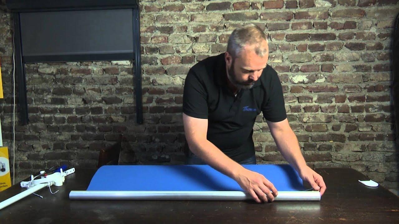 Zeer Deel 3 - Hoe maak je zelf een elektrisch rolgordijn - vastmaken  #PY81