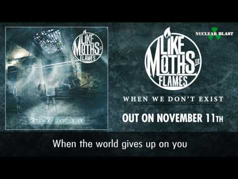 LIKE MOTHS TO FLAMES - GNF (OFFICIAL LYRIC VIDEO)