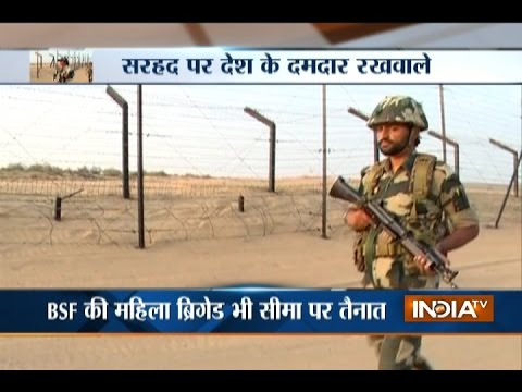 Know How BSF Soldiers Secure Border Areas at Jaiselmer