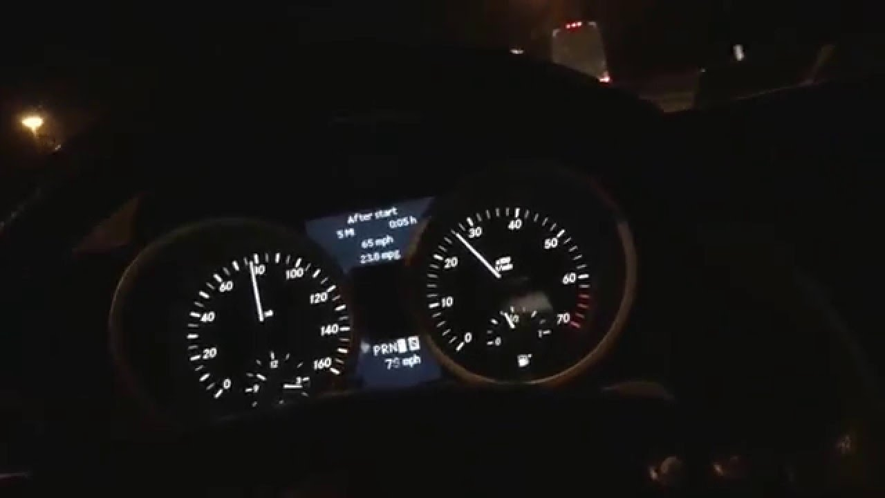 Mercedes Benz Slk350 Max Mpg Mph 60 120 Mph Topspeed High Speed Top Mpg Youtube