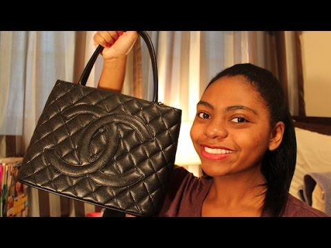 997166ef54f5 Review: Chanel Caviar Medallion Tote | Will I Sell It? - YouTube