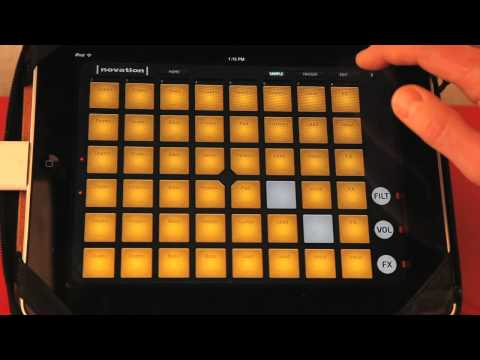 Novation Launchkey Review - Overview of Launchkey and Launchpad iPad apps and DAW Control