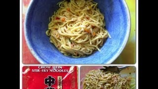 Cold Thai Noodle Salad!  Fast and Fresh!  Noreens Kitchen