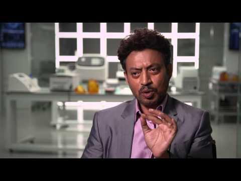 """Jurassic World"" Interview with Irrfan Khan"