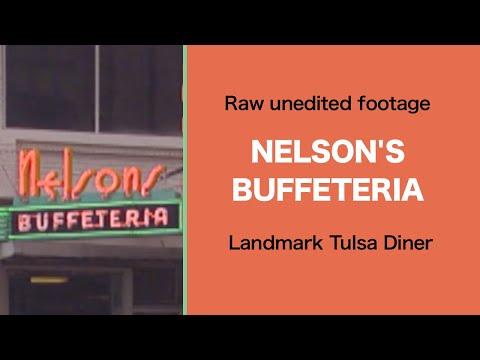 NELSON'S BUFFETERIA Downtown Tulsa, OK Mid-1990s RAW FOOTAGE | Tulsa History Series