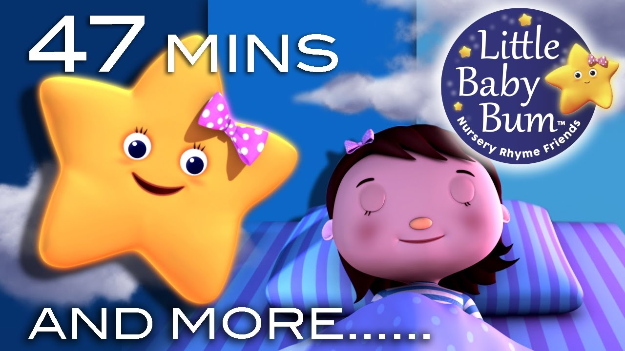 Night Time Songs Plus Lots More Nursery Rhymes 47 Minutes Compilation From Littlebaby You