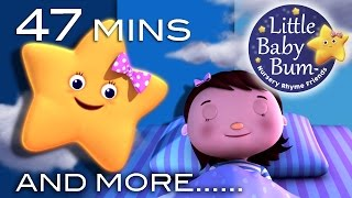 Night Time Songs | And More Nursery Rhymes | From LittleBabyBum