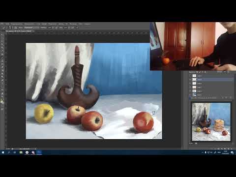 Калаш занятии  Срисовка с репродукции картин  В технике компьютерная графика