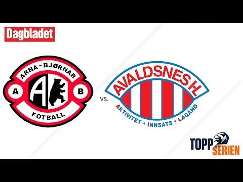 Arna-Bjørnar - Avaldsnes. Toppserien 2017, 12. runde