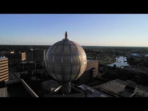 Downtown Flint in 4K