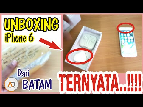 UNBOXING iPhone 6 Dari Batam | TERNYATA Seperti Ini.!!!