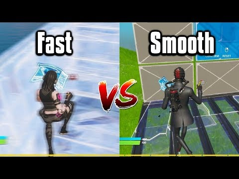 Fast Vs Smooth Building: Which Is Better? - Fortnite Battle Royale